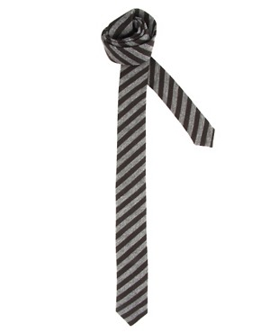 ASOS Jersey Striped Tie