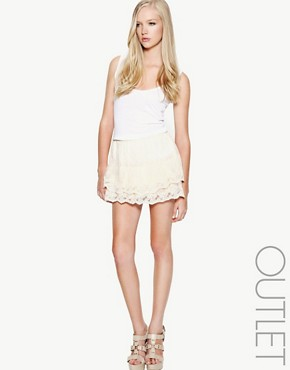 Yumi | Yumi Crochet Lace Skirt at ASOS from asos.com