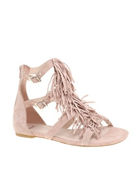 ASOS | ASOS FRANKIE Fringe Sandal at ASOS