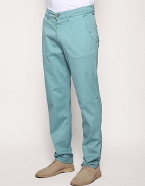 Velour Baggy Chinos