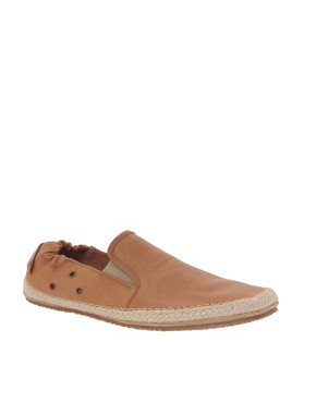 H By Hudson Inca Leather Espadrilles