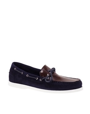 ASOS Patent Apron Deck Shoes
