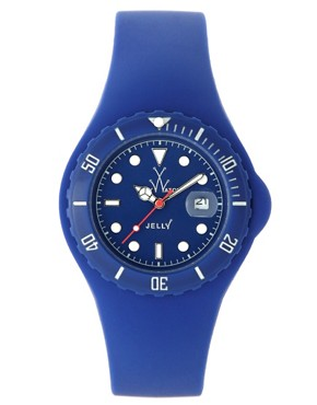 Toy Watch Blue Jelly Watch