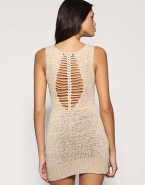 ASOS | ASOS Crochet Back Detail Sleeveless Tunic at ASOS