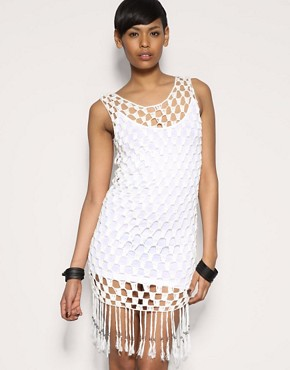 Religion | Religion Crochet Fringe Dress at ASOS :  memorial day crochet fringe labor day