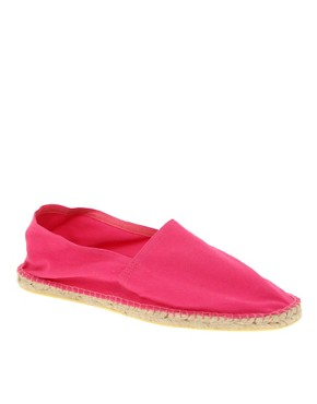 ASOS Canvas Slip On Espadrilles