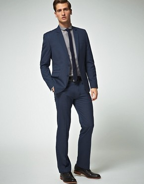 ASOS Slim Fit Blue Suit