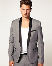 ASOS Slim Fit Tux Jacket