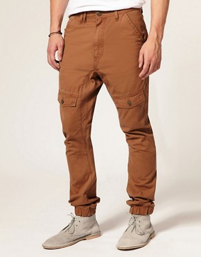 ASOS Carrot Cargo Trousers