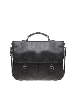 River Island Buckle Satchel