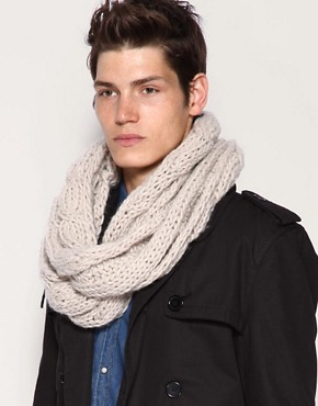 ASOS Heavyweight Cable Snood