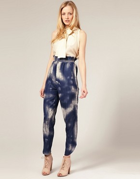 Image 1 of&#160;Carin Wester Trousers in Tie Dye Print