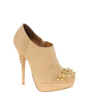 KG by Kurt Geiger Electric Studded Shoe Boots at ASOS :  kg bootie stiletto kg by kurt geiger