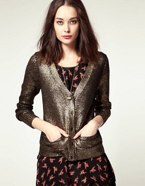 Image 1 of NW3 by Hobbs Madeley Metallic Cardi