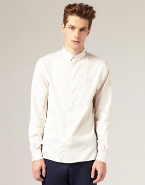 Fred Perry Laurel Wreath Multi Button Shirt