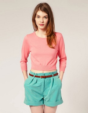 Image 1 of ASOS Fine Knit Sweater