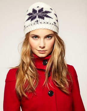 Image 1 of Kit & Pearl Snowflake Beanie