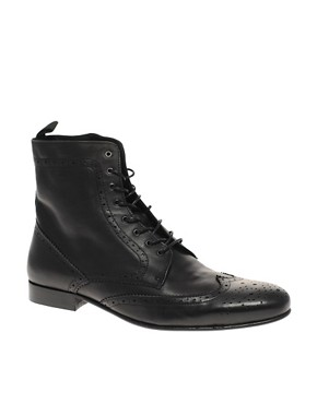 ASOS Lace Up Brogue Boots