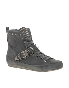 Sam Edelman Alexander Strapped Hi Top Sneaker from us.asos.com