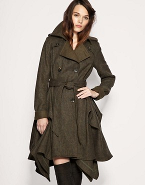 Cooper & Stollbrand for ASOS Hitch Coat :  jacket coat rainy weather wear cooper amp stollbrand for asos