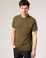 ASOS Military Polo Shirt