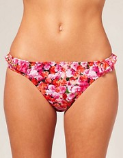 buy ASOS Digital Floral Skirted Bikini Brief by ASOS in swimsuits shop