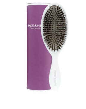 Hershesons - Mixed Bristle Oval Brush :  hair accessory hair hair accessories brush