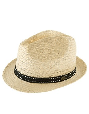 Bailey Of Hollywood Rhett Natural Straw Trilby