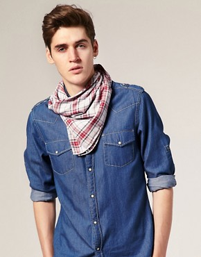 Cheap Monday Checked Bandana Scarf
