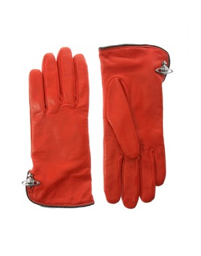 Vivienne Westwood  | Vivienne Westwood Leather Gloves at ASOS