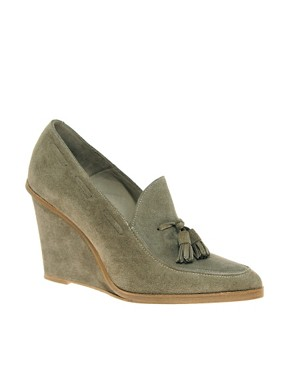 Surface To Air - Loafer Prima Wedge Shoe from us.asos.com