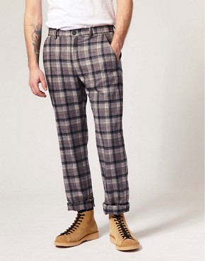 Pendleton Meets Opening Ceremony Plaid Suit Trousers
