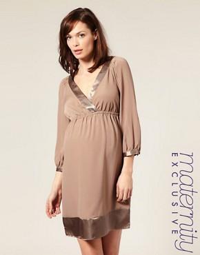 Фасоны вечерних платьев для беременных.