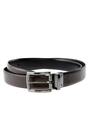 French Connection Reversible Smart Leather Belt