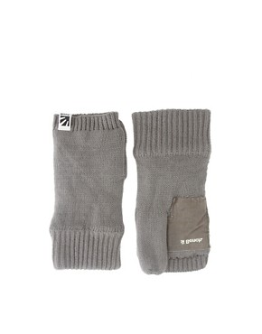 Bench Knitted Fingerless Gloves