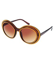 buy Jeepers Peepers Exclusive To ASOS '60s Trim Sunglasses by Jeepers Peepers in swimsuits shop