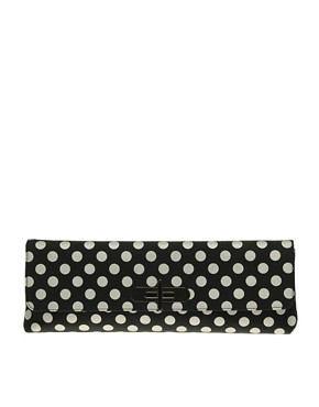 Image 1 ofASOS Long Spot Clutch
