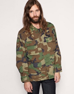 Reclaimed Vintage Camo Jacket