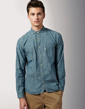 Paul Smith Jeans Classic Fit Chambray Shirt