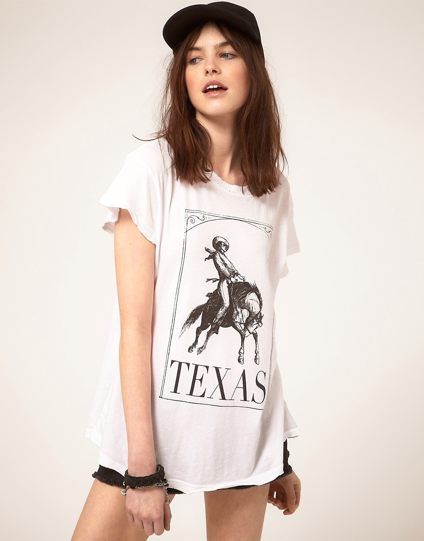 Wildfox Rodeo tshirt from ASOS