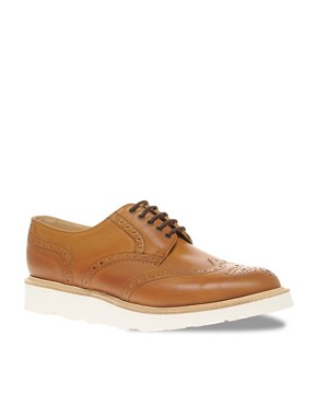 ASOS Made In England Vibram Wedge Brogues
