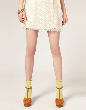 Image 1 of ASOS Ankle Sock with Frill