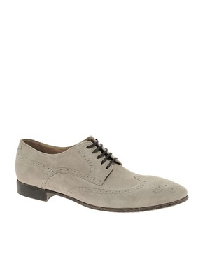 Rolando Sturlini Washed Suede Brogues
