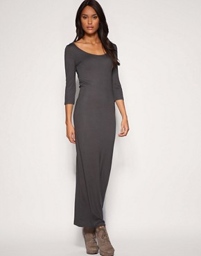 ASOS | ASOS Jersey T-Shirt Maxi Dress at ASOS :  loose scoop neck viscose clothing