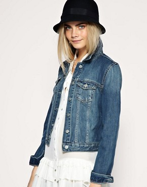 ASOS - Western Denim Jacket :  jacket asos asos western jacket denim jacket