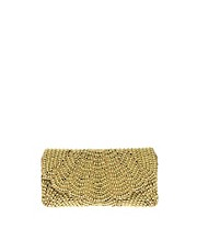ASOS Scalloped Edge Beaded Clutch