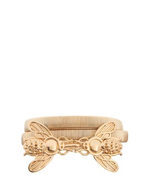 Image 1 of&#160;ASOS Bug Buckle Metal Belt