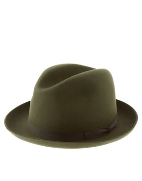 Mr Hat Exclusive To ASOS Felt Classic Hat