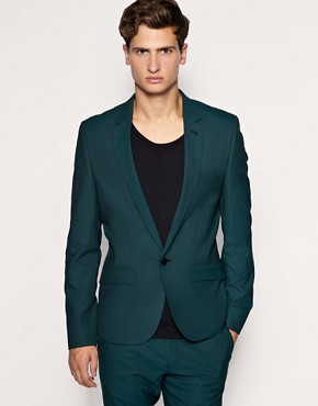 ASOS Slim Fit Green Jacket