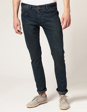 River Island Dark Wash Skinny Jeans